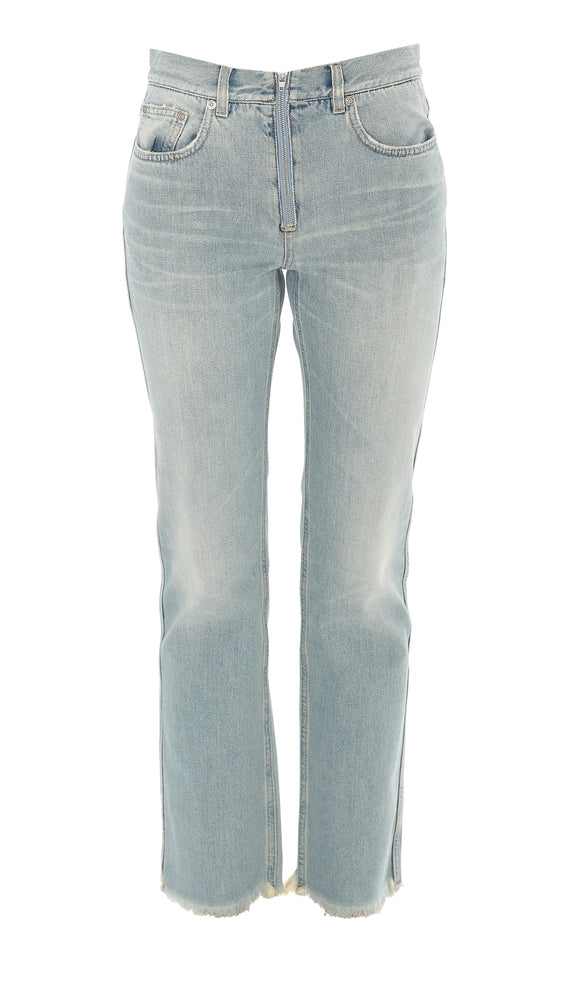 Givenchy Jeans GIVENCHY FRAYED BOOTCUT JEANS