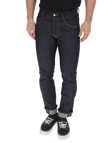Gucci Tapered Cuff Jeans