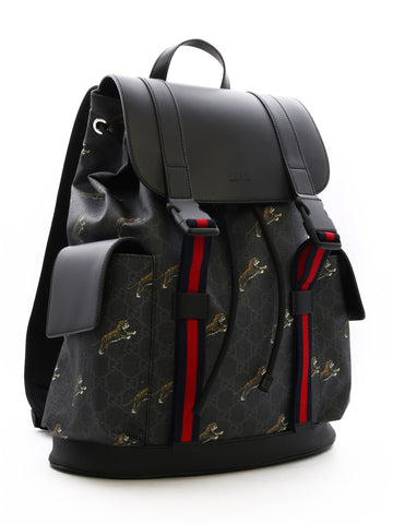 Gucci GG Supreme Tigers Backpack