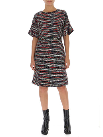 Gucci Sequinned Tweed Dress