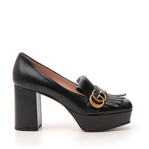 Gucci GG Fringed Platform Pumps