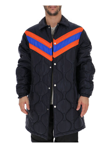 Gucci Striped Padded Jacket