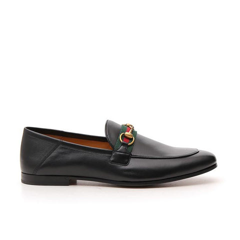Gucci Web Horsebit Loafers