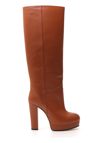 Gucci Platform Knee-High Boots