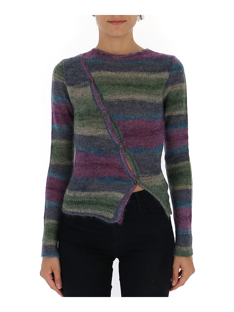 Jacquemus Sweaters JACQUEMUS LA MEILLE PAU STRIPED SWEATER