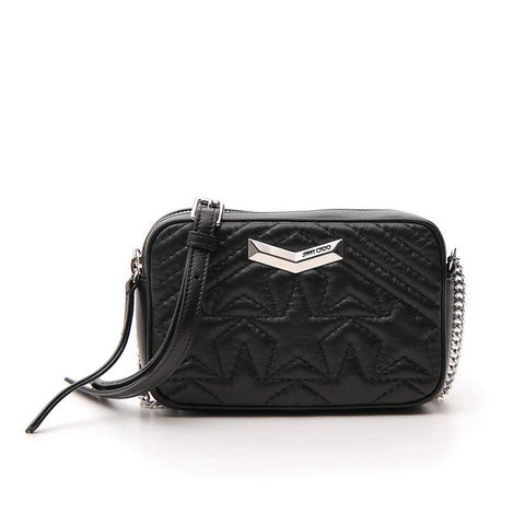 Jimmy Choo Helia Quilted Crossbody Bag