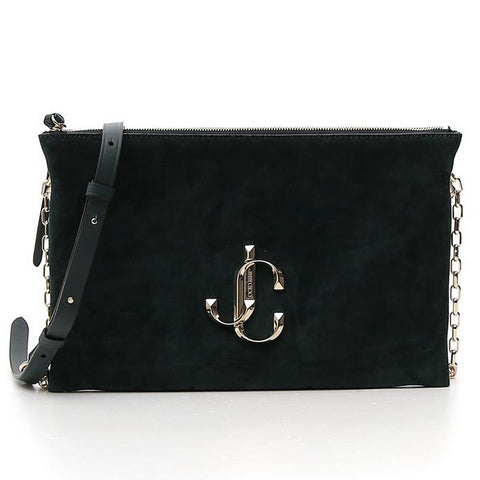 Jimmy Choo Logo Plaque Shoulder Bag