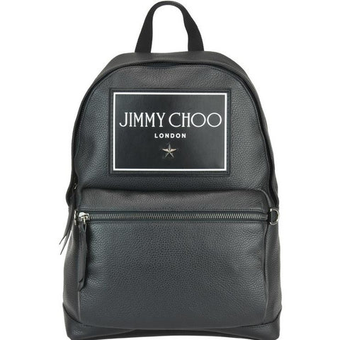 Jimmy Choo Wilmer Logo Backpack