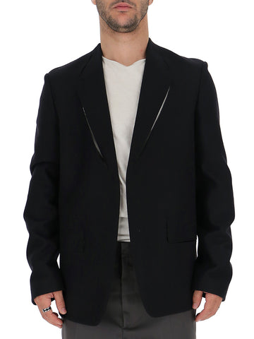 Maison Margiela Cut Out Detail Single Breasted Blazer