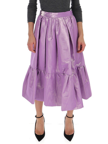 Marc Jacobs Gathered Tiered Midi Skirt