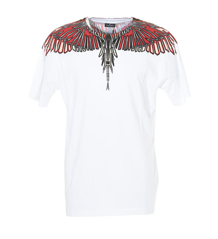 Marcelo Burlon County Of Milan Geometric Wings T-Shirt
