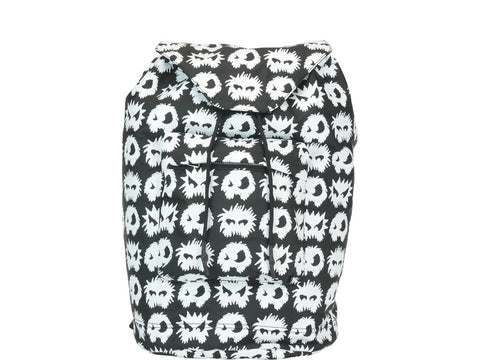 MCQ Alexander McQueen Monster Print Logo Backpack