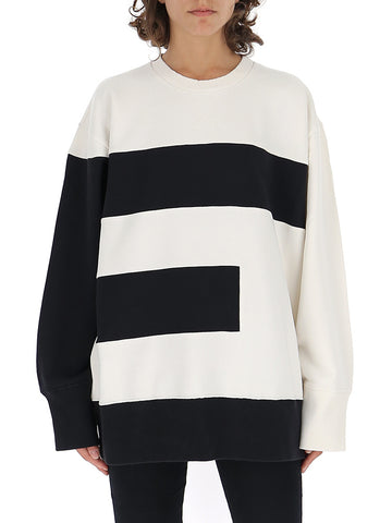 Mm6 Maison Margiela Letter E Crewneck Knitted Jumper