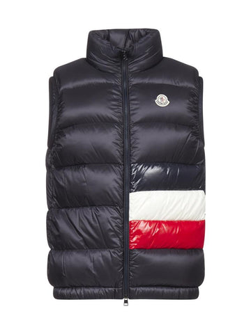 Moncler Contrasting Panelled Down-Padded Gilet