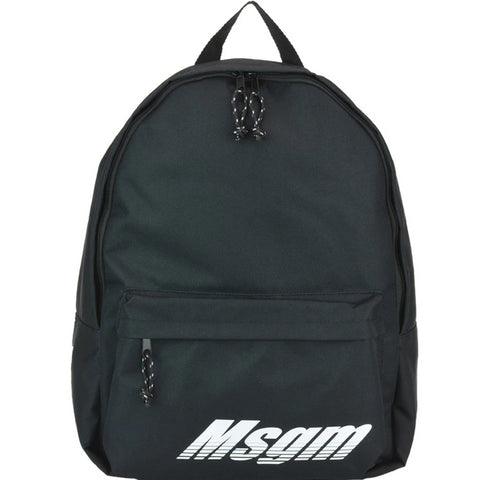 MSGM Zipped Logo Backpack