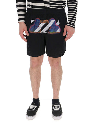Off-White Thermo Mesh Shorts
