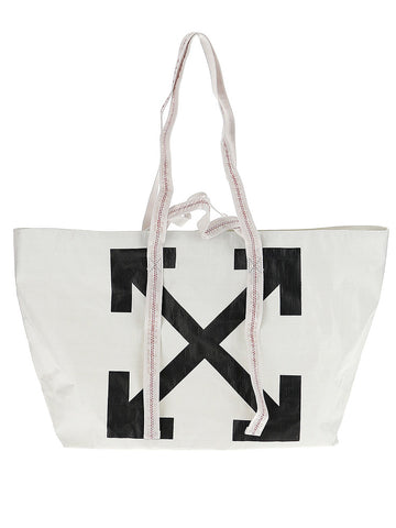 Off-White Logo Arrows Tote Bag