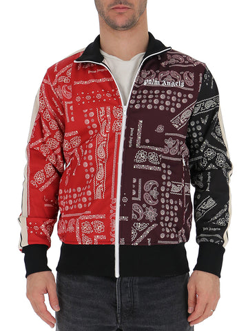 Palm Angels Bandana Contrast Logo Print Jacket