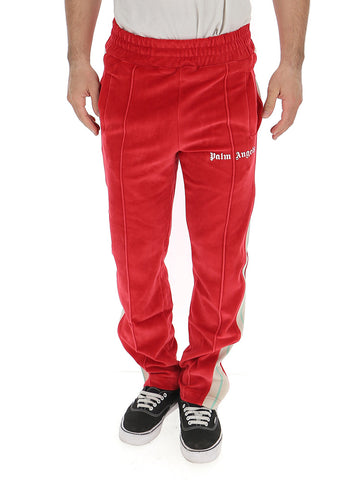 Palm Angels Logo Side Stripe Track Pants