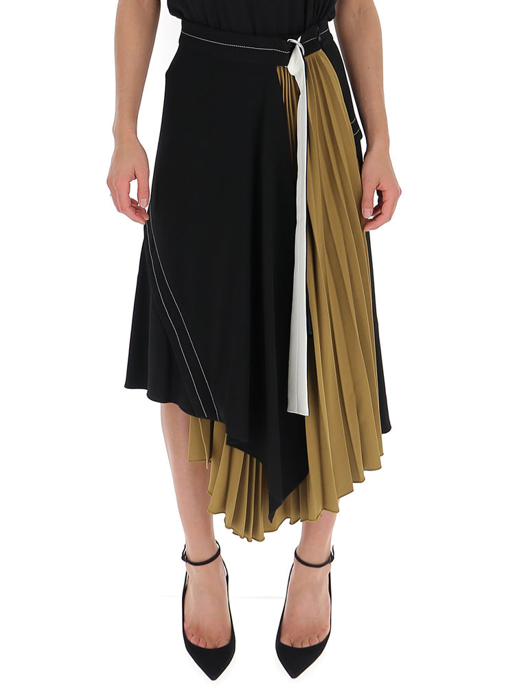 Proenza Schouler Skirts PROENZA SCHOULER PLEATED INSERT FLARED SKIRTS