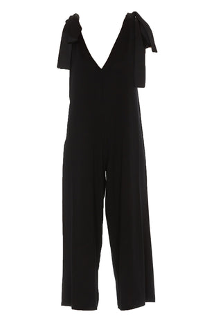Red Valentino Bow Straps Jumpsuit