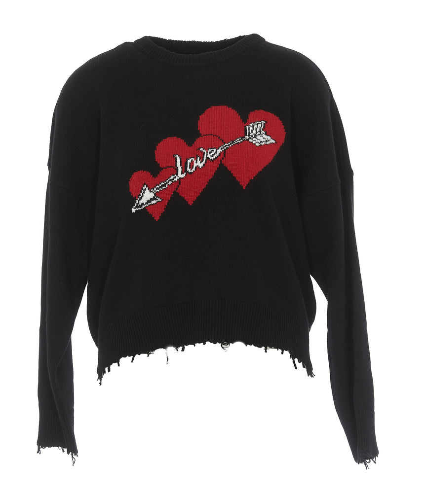 Red Valentino Love Knitted Jumper