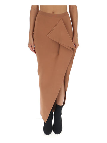 Rick Owens Grace Draped Maxi Skirt