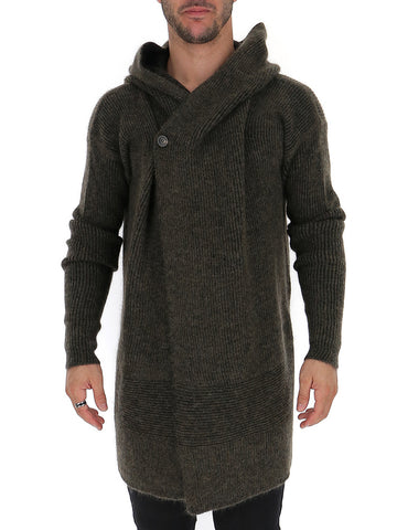 Rick Owens Hooded Fisherman Cardigan