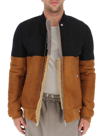 Rick Owens Zipped Bomber Jacket