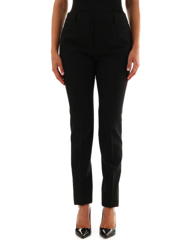Saint Laurent High Waisted Pants