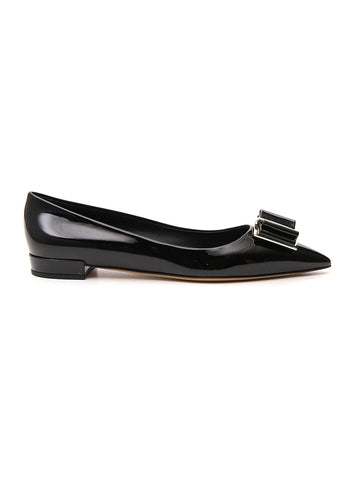 Salvatore Ferragamo Bow Flat Shoes