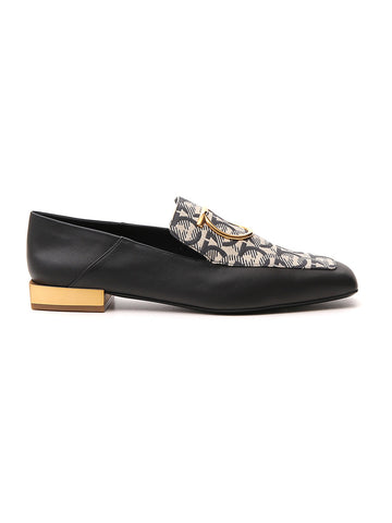 Salvatore Ferragamo Printed Loafers