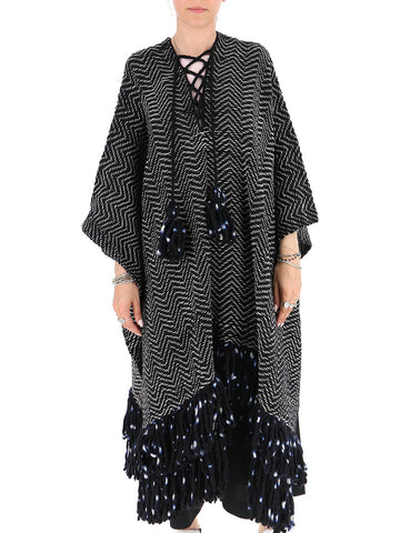 Ulla Johnson Fringed Poncho