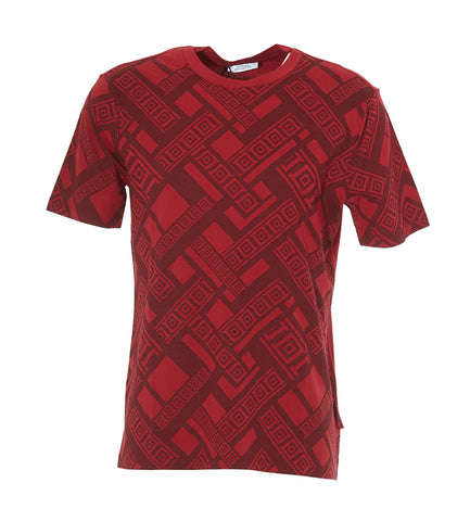 Versace Collection Patterned Crewneck T-Shirt