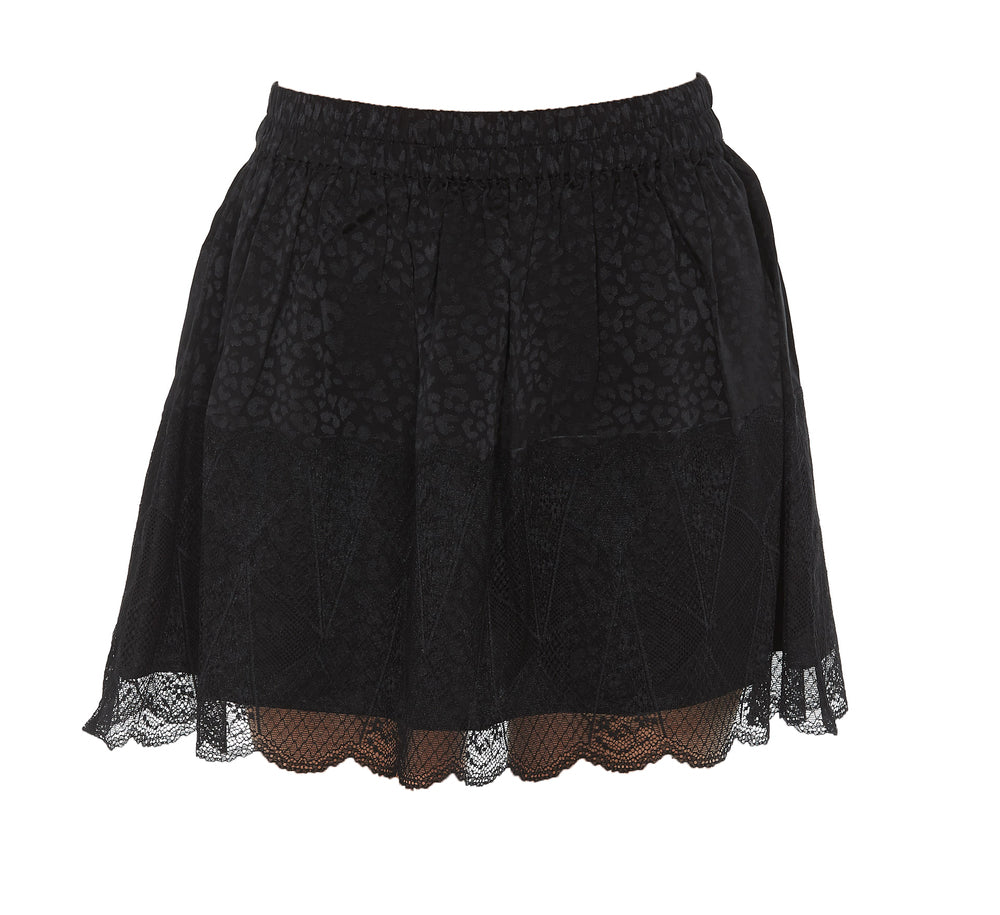 Zadig & Voltaire Skirts ZADIG & VOLTAIRE LACE EFFECT MINI SKIRT