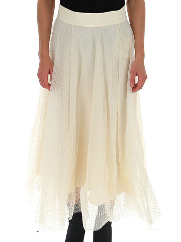 Zimmermann Layered Ballet Midi Skirt