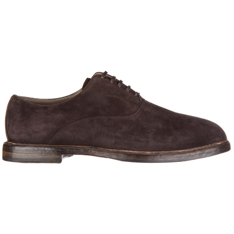 Dolce & Gabbana Suede Oxford Shoes