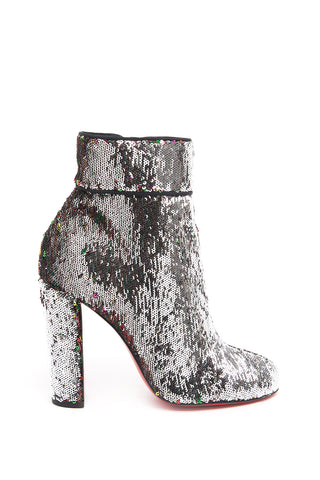 Christian Louboutin Moulamax Sequin Ankle Boots