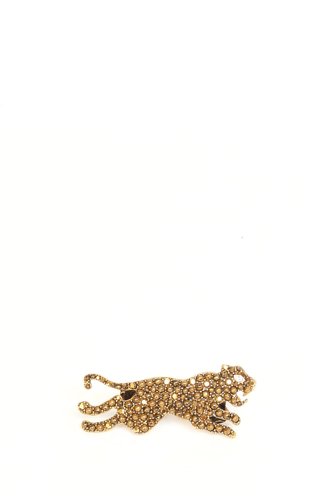panther double finger ring - Metallic Gucci pAZZG