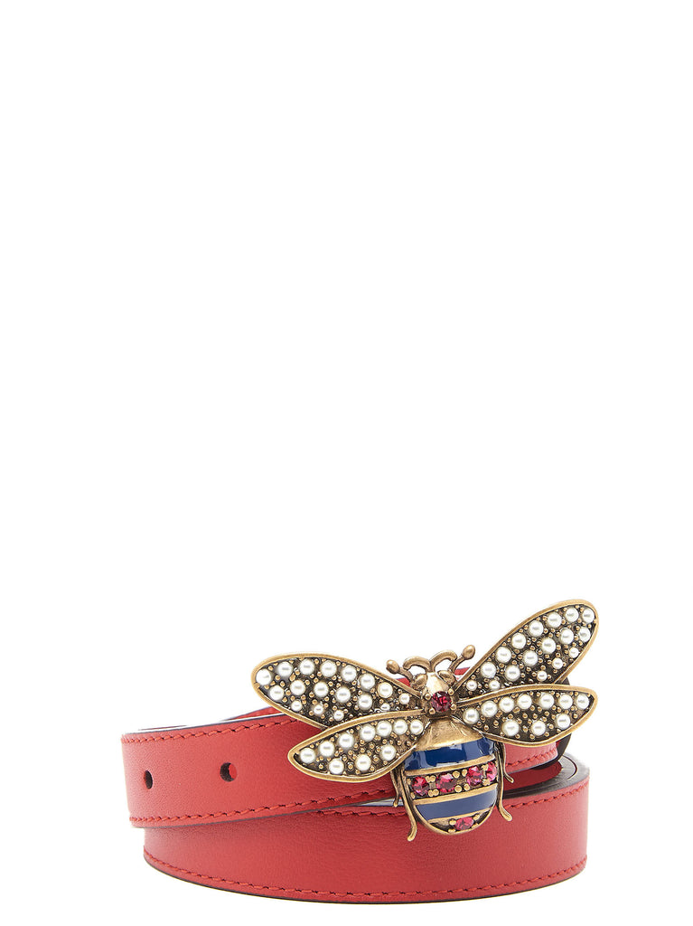 0dd4a095f60 Gucci Queen Margaret Jewelled Bee Belt – Cettire
