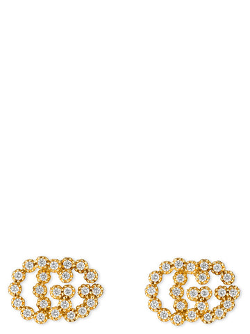 Gucci Studded GG Running Earrings