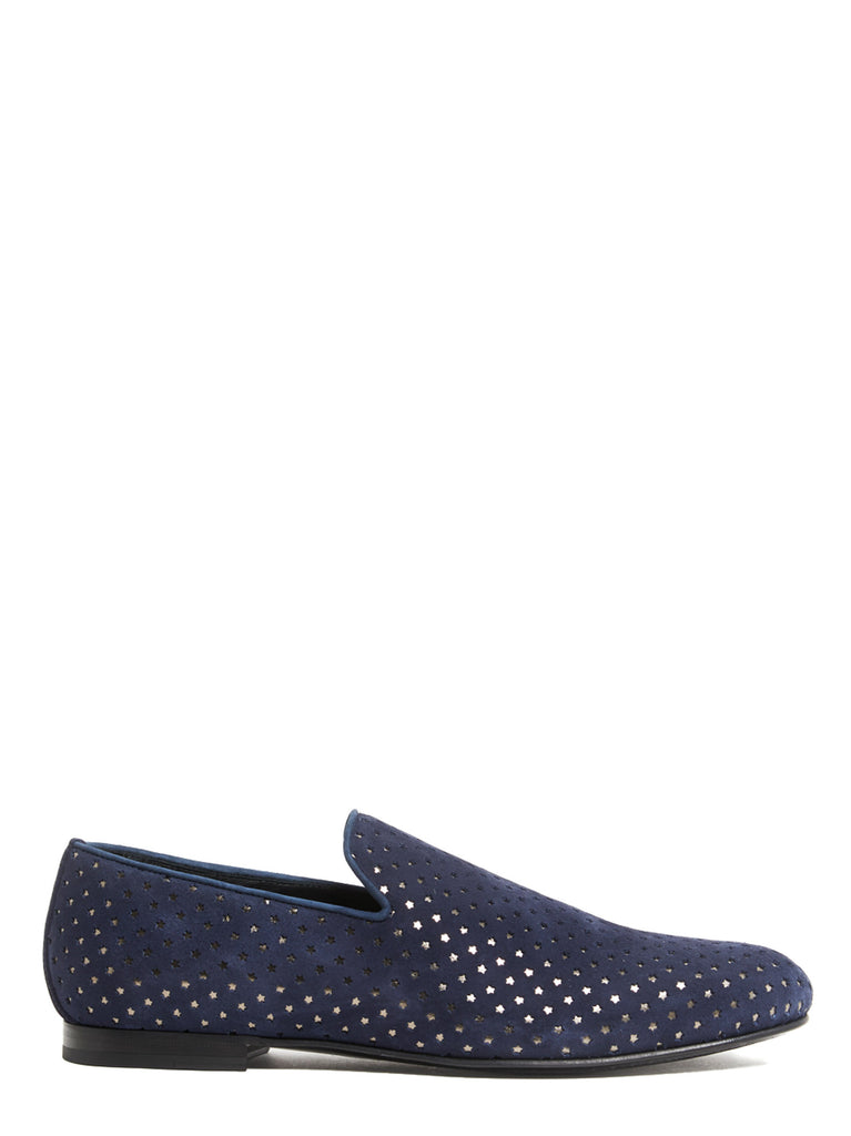 0629e6091f5 Jimmy Choo Star Perforated Sloane Loafers – Cettire