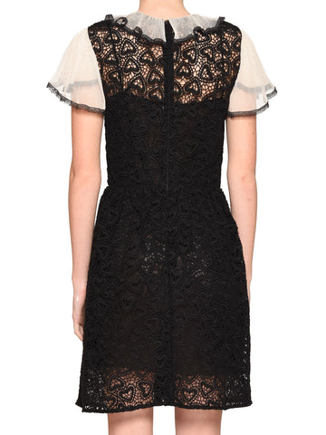 Red Valentino Macramè Dress