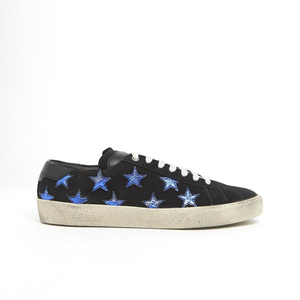 479a7dcf49c46 Saint Laurent Court Classic SL 06 California Suede Star Sneakers – Cettire
