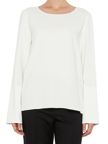 The Row Long Sleeved Blouse