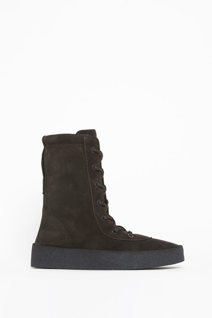 13ea67f00fa Yeezy Suede Lace-up Boots – Cettire