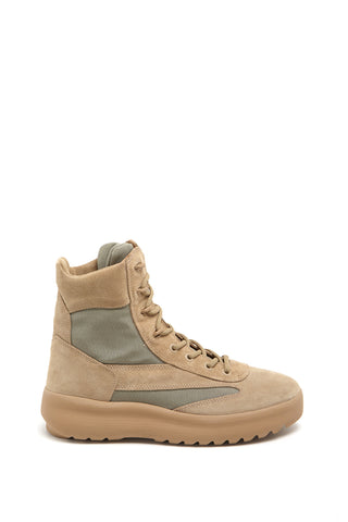 Yeezy Hi Top Lace Up Sneakers