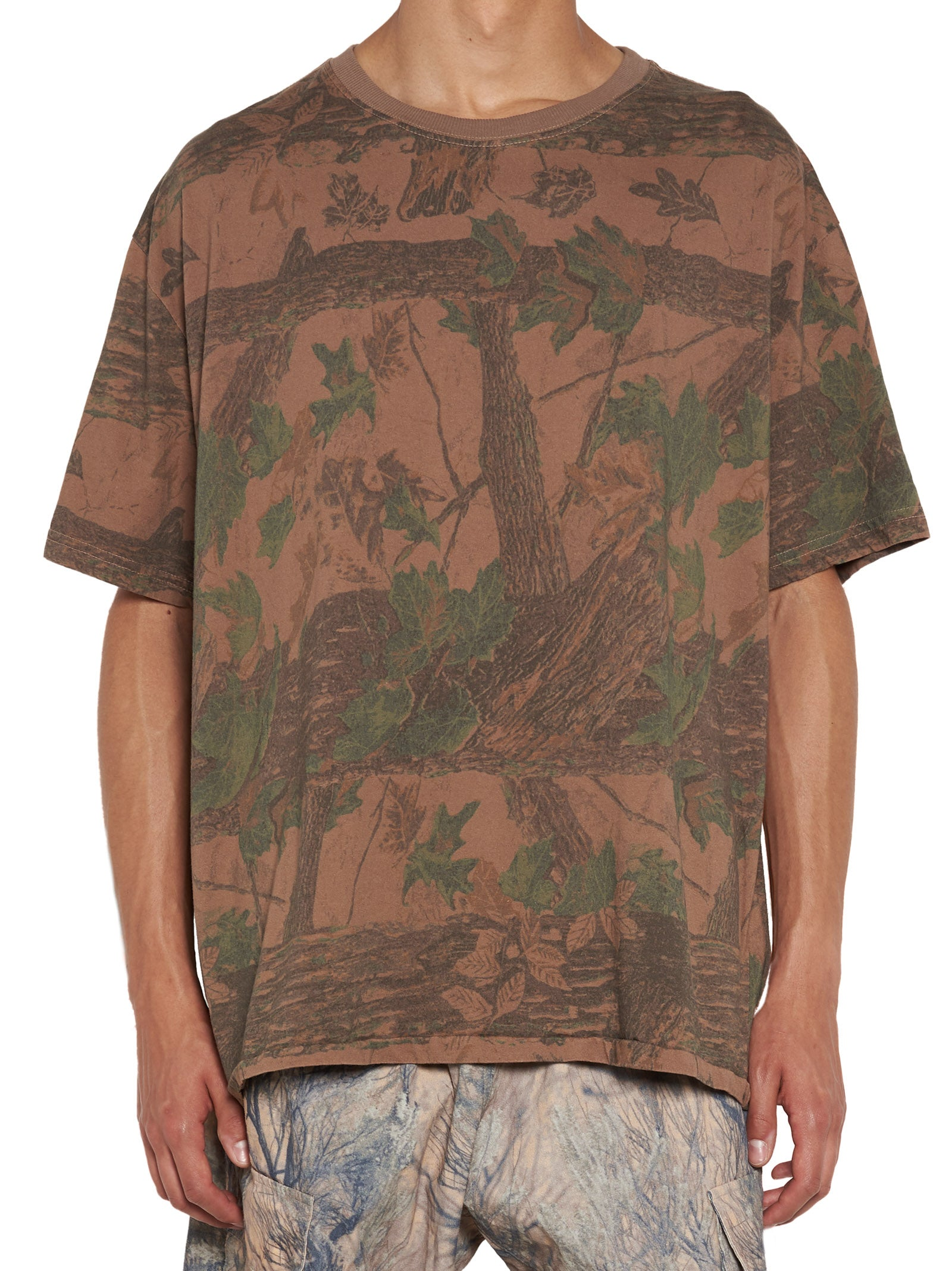 YEEZY CAMOUFLAGE OVER SIZED T