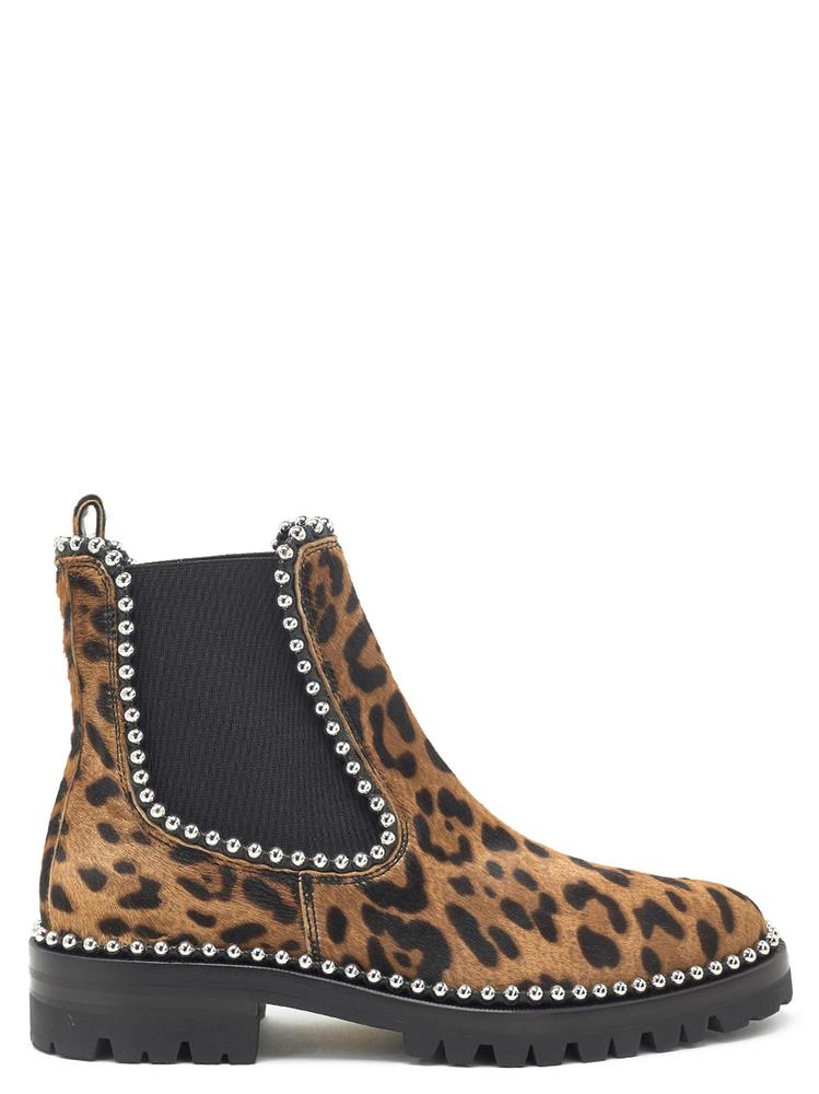 36fe48f1ce5a Alexander Wang Leopard Print Ankle Boots – Cettire