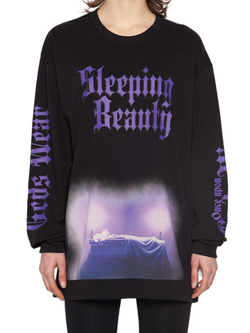 GCDS Sleeping Beauty Oversize Sweatshirt